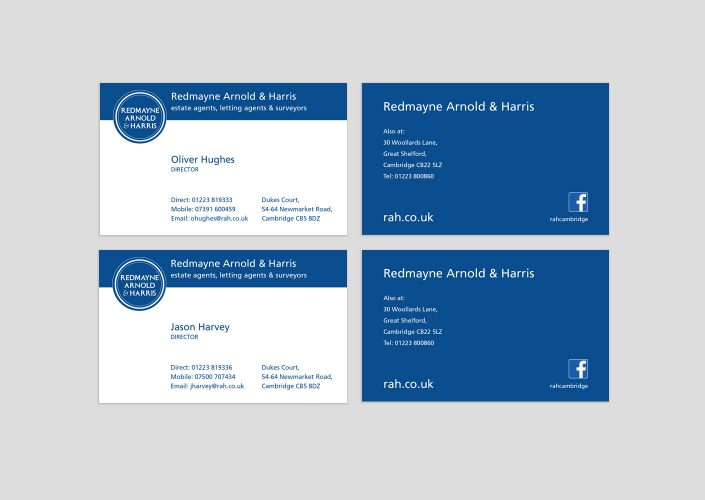 RAH Business cards