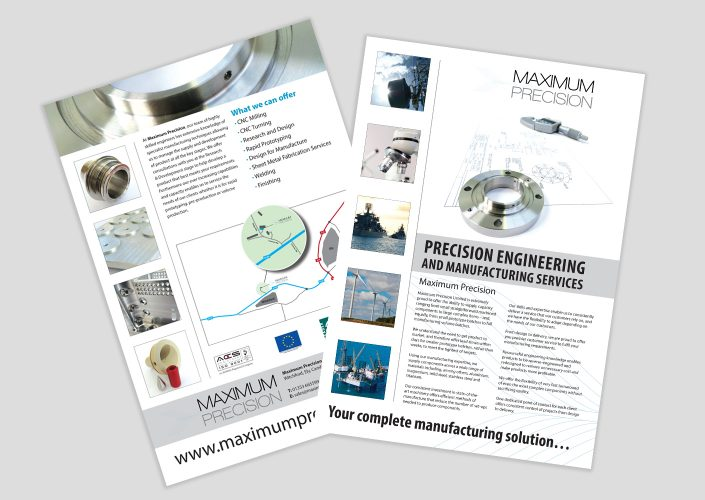 Maximum Precision leaflet