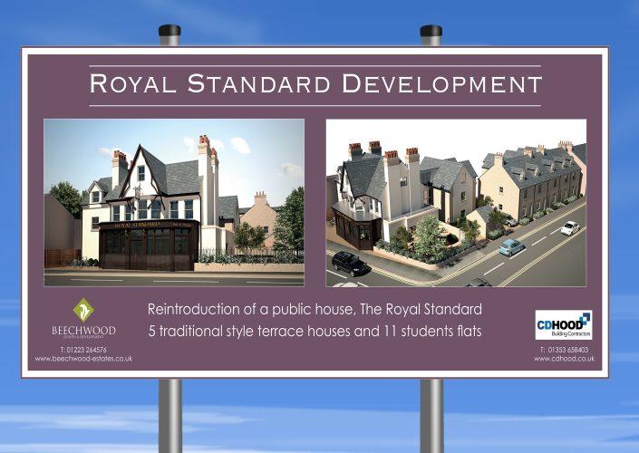 Royal standard Banner